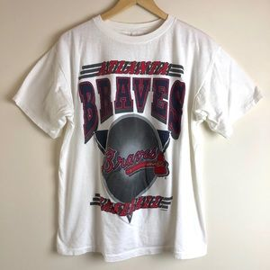 1994 Atlanta Braves Baseball Graphic Tee Shirt